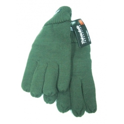 KNITTED GLOVES PADDED