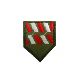 Lapel mark of Probation Officers Battalion Infantry with velcro