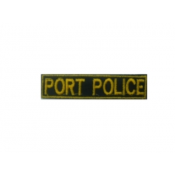 Signal breast coastguard portpolice (with velcro)