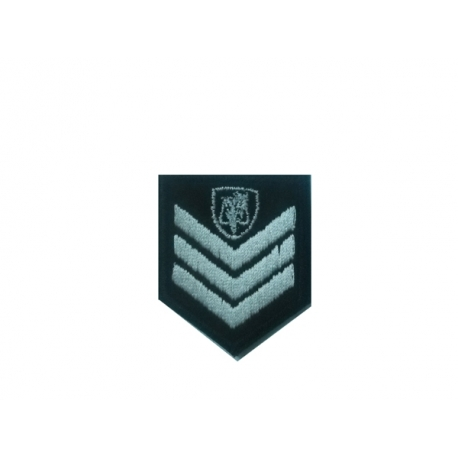 Sergeant (Investigation Officer) police lapel with velcro