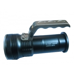 POWERFUL HAND RECHARGEABLE FLASHLIGHT WITH LED