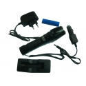 POWERFUL HAND TORCH 3 LIGHT OPTIONS (3TEM.AAA) (TELKO) 450 loumen WITH LED