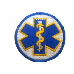 Paramedic embroidered MARK (WITH SKRATS) 7Χ7
