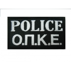 POLICE OPKE COLOR 10X5 WITH VELCRO