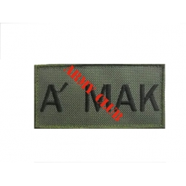 SPECIAL FORCE A' MAK LOW VISIBILITY 10X5 WITH VELCRO