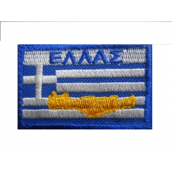 GREAT GREECE COLOR WITH CRETE AND VELCRO