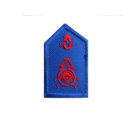 Oplosimo fire lapel (with velcro)