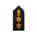 Brigadier lapel (with velcro)