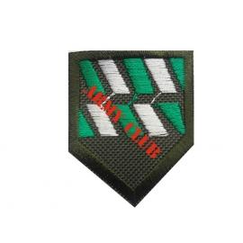 Σήμα πέτου Δοκίμων Αξιωματικών Βητόσημο Τεθωρακισμένων με σκράτς
