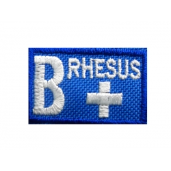 BLOOD FIREFIGHTING GROUP (B +) NEW WITH VELCRO