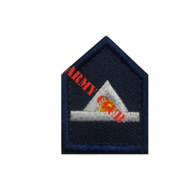Firefighter lapel Pyronomou Production School reduction for lapel polo with velcro