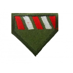 Lapel mark of Probation Officers, infantry badge with velcro