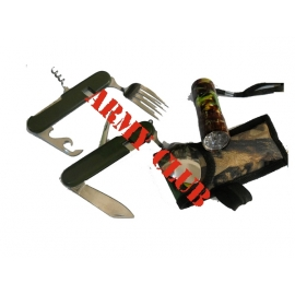 PICNIKING KNIFE WITH CASE AND LENS