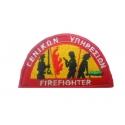 Σήμα στήθους Πυροσβεστικής (με σκράτς) Γενικών Υπηρεσιών
