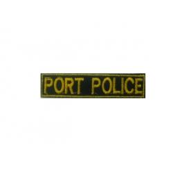 Signal breast coastguard portpolice (with velcro)