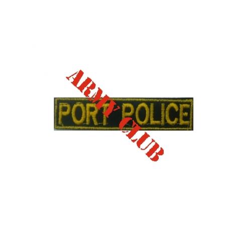 Σήμα στήθους λιμενικού σώματος portpolice (μέ σκράτς)