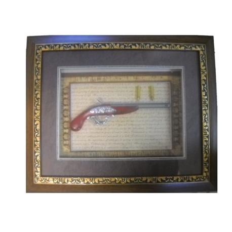 WOODEN FRAME (WEAPON replica) (46CH38 The FRAME) 2