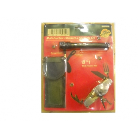 TORCH SET WITH PICNIC AND CASE
