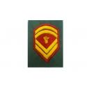 Epaulet sergeant PERMANENT STOLIS (PAIR)