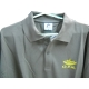 JERSEY embroidered pique collar (long sleeve) (LCD) (KHAKI)