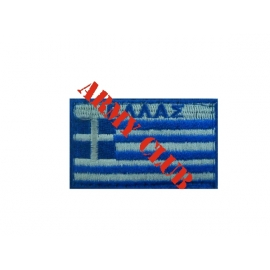 GREEK FLAG WITH VELCRO 10X6