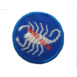 EMPROIDERY BADCE SHIELD 3 WITH VELCRO