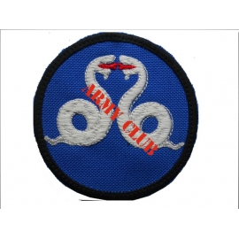 EMPROIDERY BADCE SHIELD 4 WITH VELCRO