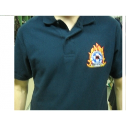 FIREWORKS POLO EMPROIDERY