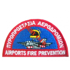 Airport Fire Protection with velcro