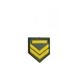 OBA lapel mark Exit sergeant (with velcro)