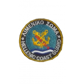 Coast Guard badge with velcro