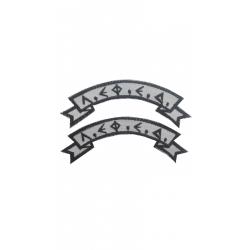 ΛΕΦΕΔ semicircle pair color with velcro