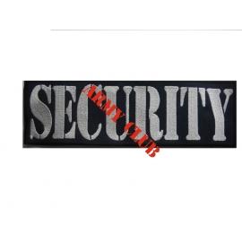 Σήμα κεντητό (SECURITY) πλάτη 28χ8 με σκράτς