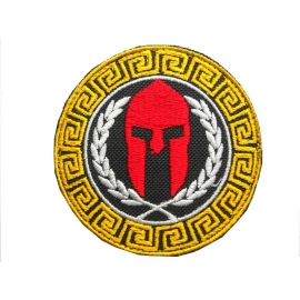 TOURIST ANCIENT HELLENIC EMPROIDERY BADGE
